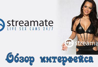 Обзор кабинета модели на вебкам сайте Streamate.com